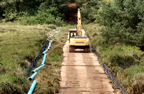 Mats for Pipeline Construction