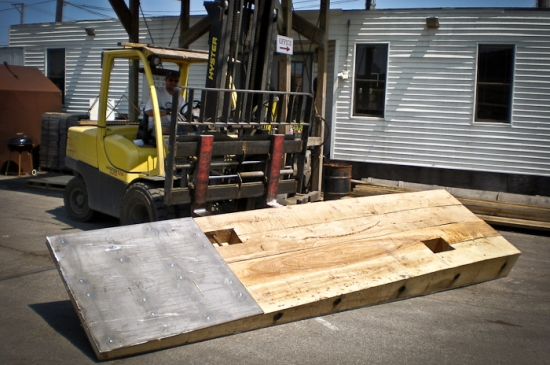 Transition Mat with Steel Plate