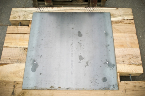 Outrigger Pad with Steel Plate